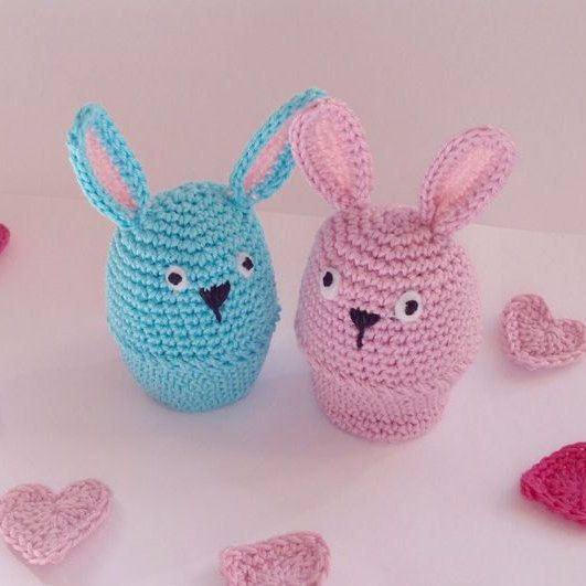 Strawberries baby booties knitted baby booties knitted baby bunny egg cozies crochet egg cozy easter gift ecocrochetart negle Gallery