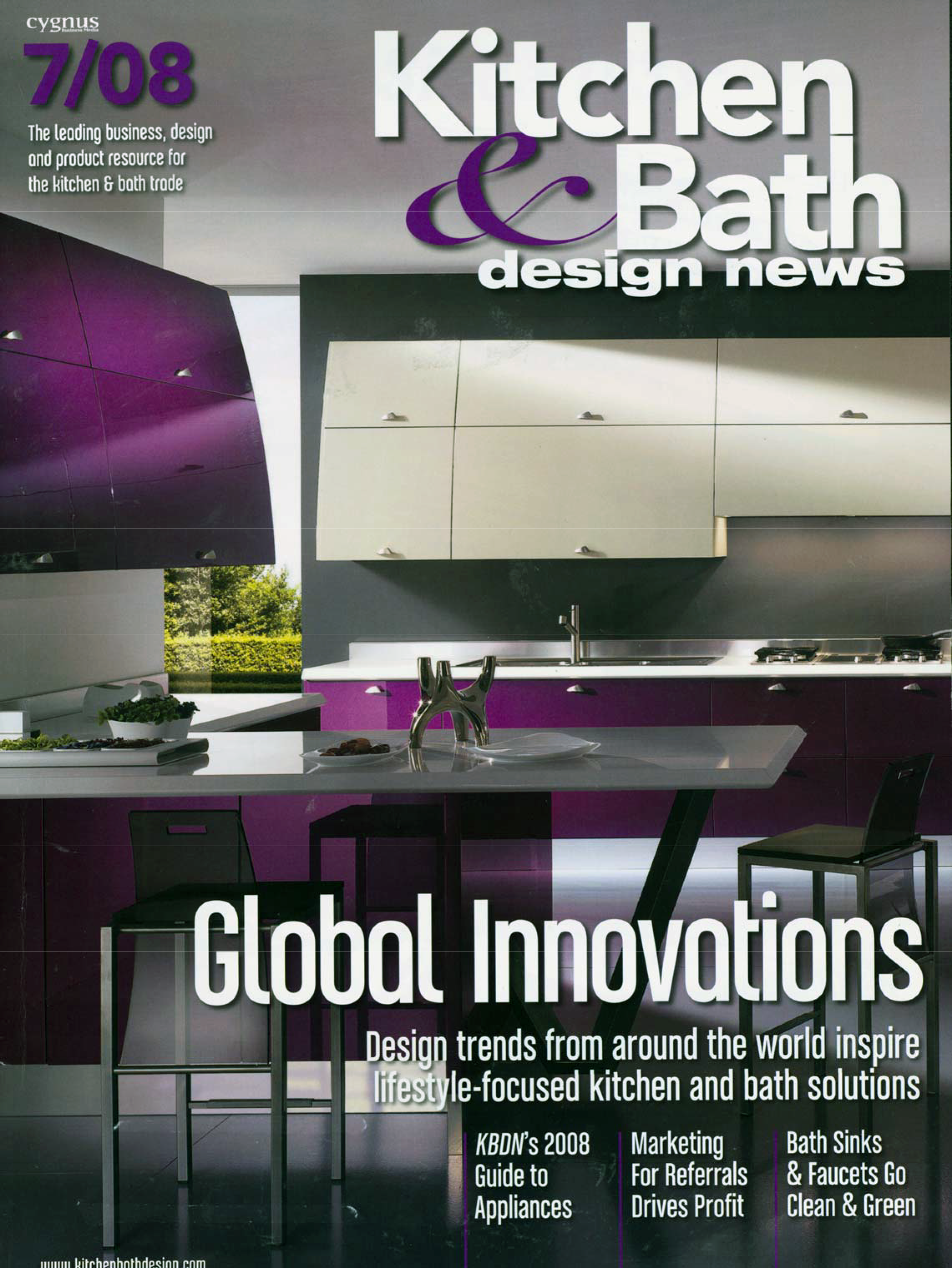 2008 Kitchen U0026 Bath Design News | Global Innovation   Design Trend From  Around The World
