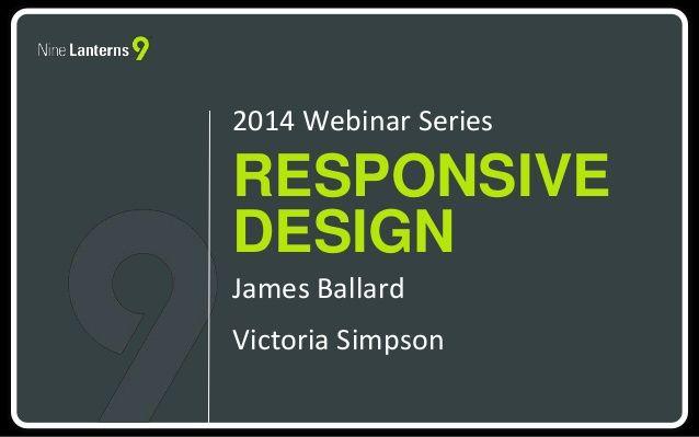 ScaffoldLMS Webinar 1-Responsive Design and Theme by Nine_Lanterns via slideshare