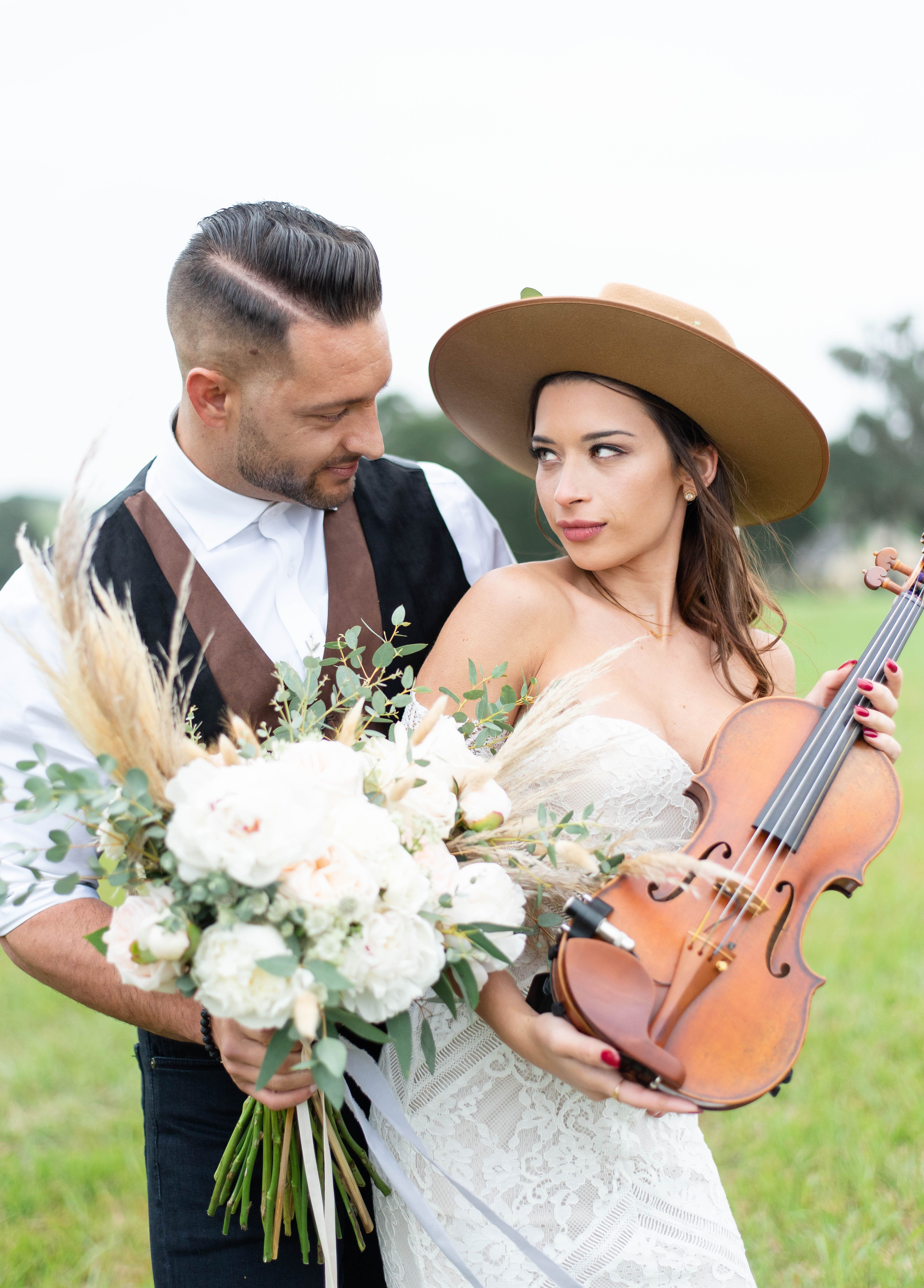 Violin music for your walk down the aisle!! So romantic