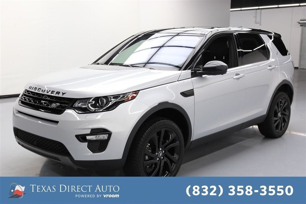 For Sale 2017 Land Rover Discovery Sport HSE Luxury Texas