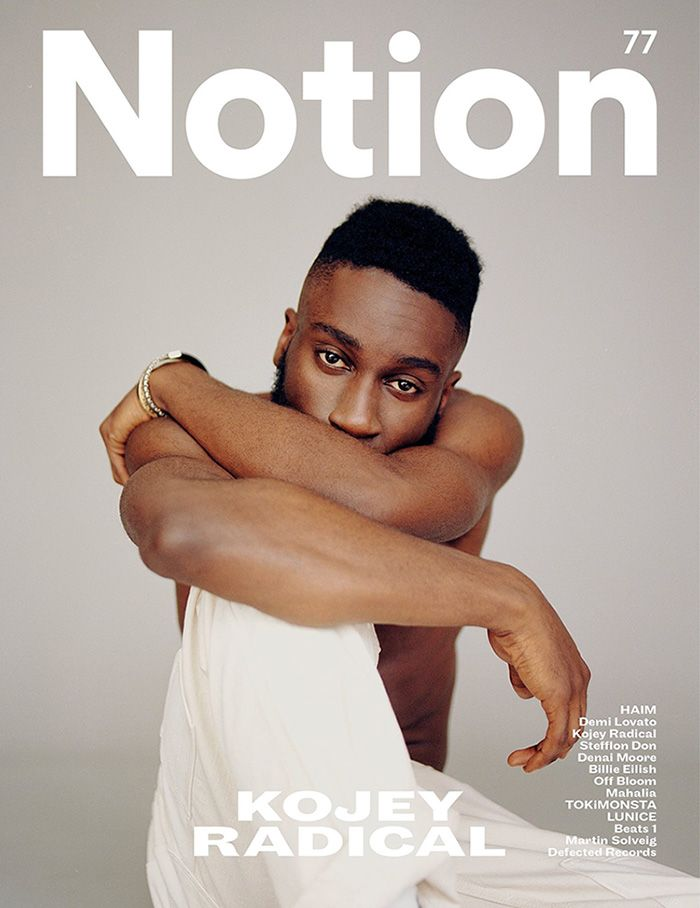 Kojey Radical Star Of Our Aw17 Campaign Featured On The Cover Of Notion Magazine For The Transcendence Issue Don Moore Photographer Portfolio Photographer