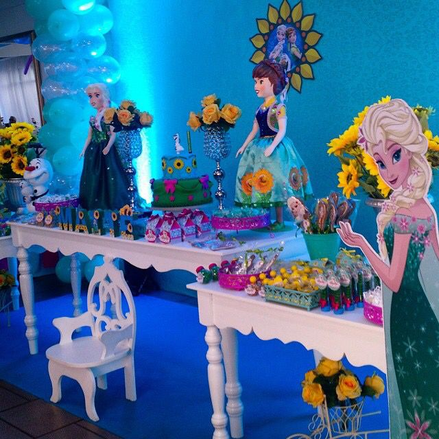 Disney Frozen Fever Birthday Party Frozen Fever Birthday Party