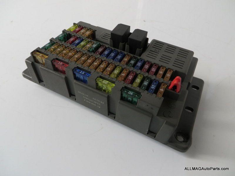 2005-2008 mini cooper interior fuse box 20 61146906626 r50 r52 r53