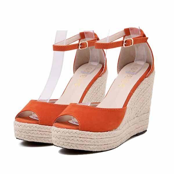 b5969163c0dd9 TRENDY TOP QUALITY Superior QualitySummer style comfortable Bohemian Wedges  Women sandals for Lady shoes high platform open toe flip flops Plus - TMACHE