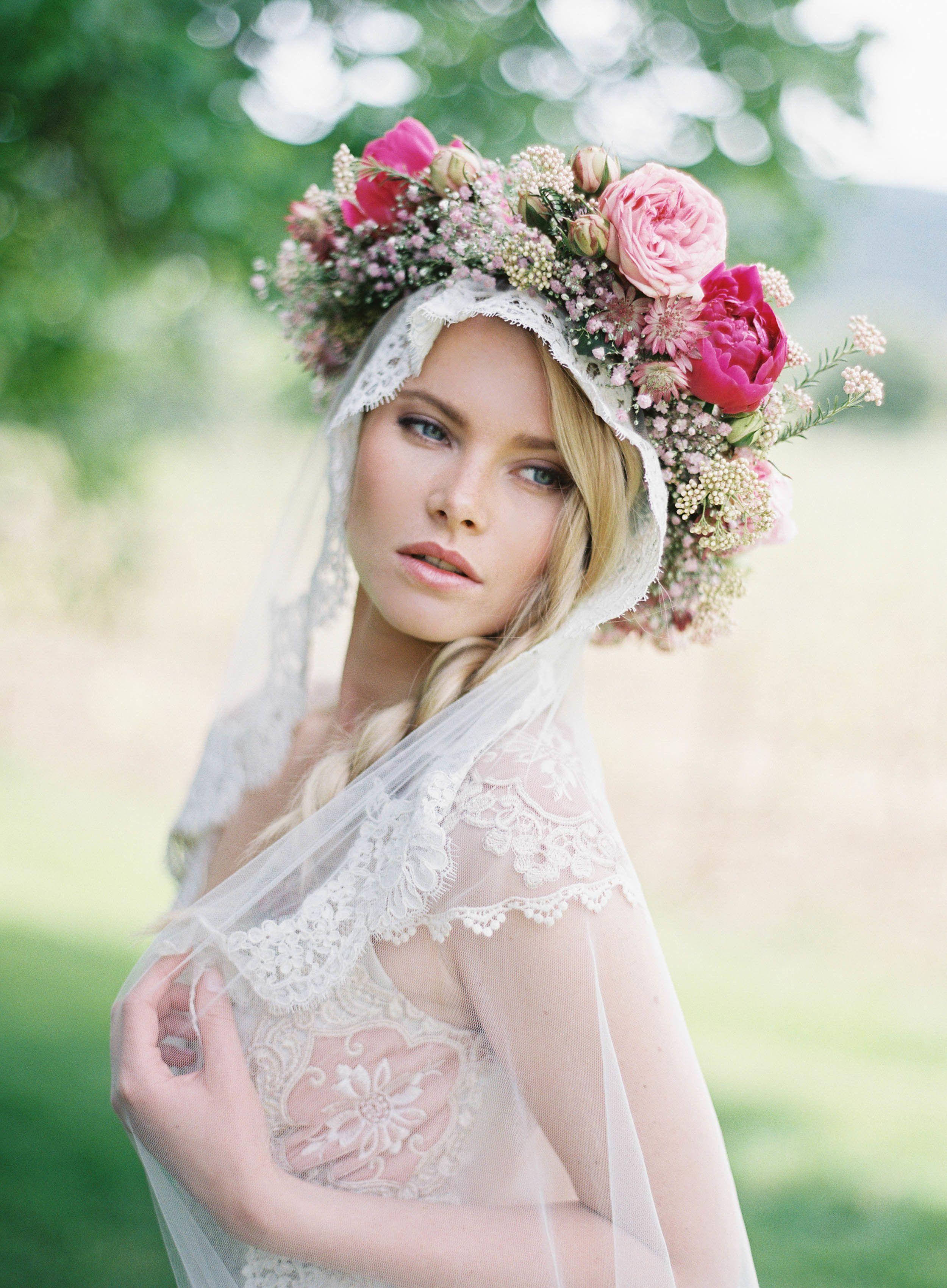 Provencal Bohemian Garden Wedding Inspiration Pinterest Garden