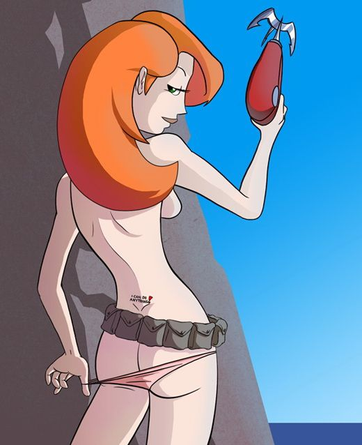 Charming answer Kim possible solo nude has