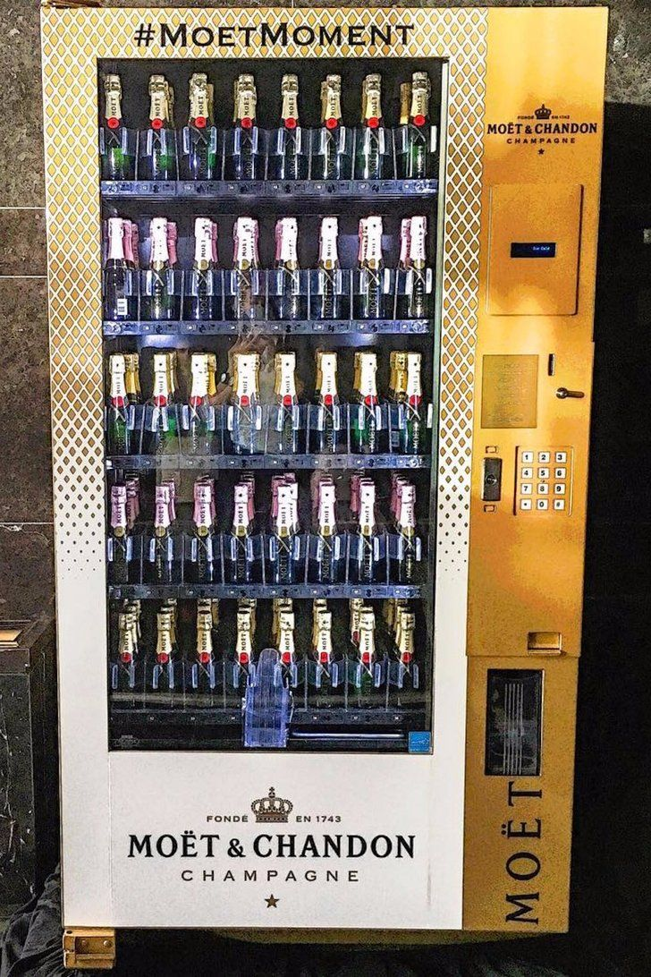 d867be0ae Try to Keep Your Cool — a Champagne Vending Machine Exists ...