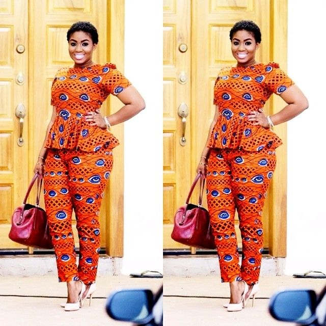 Every week i take a walk through town to find inspiring outfits worn by people that catch my eye. African print pants are fashionable, flatter the shape and look amazing on everyone. ...