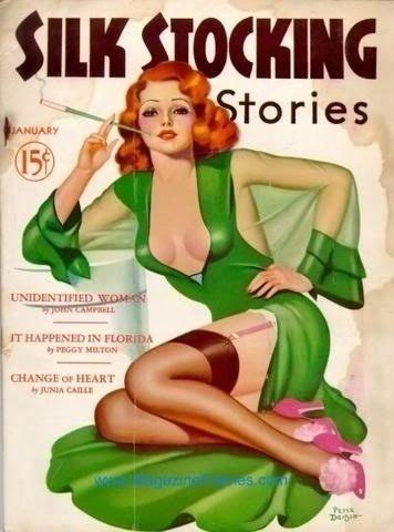 stocking magazines Vintage