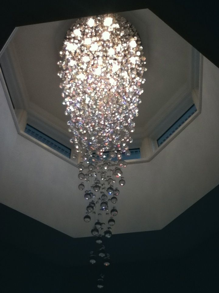 Upside down crystal christmas tree chandelier xmas tour upside down crystal christmas tree chandelier aloadofball
