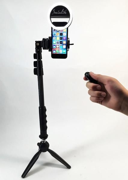 Live Equipment Frugal Extendable Handheld Selfie Stick Monopod Bluetooth Shutter Mini Live Tripod Phone Holder Stand Mount For Iphone X Smart Mobile P Back To Search Resultsconsumer Electronics