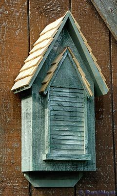 Victorian 30 In X 15 In X 6 In Bat House Bird Houses Owl House Outdoor Decor