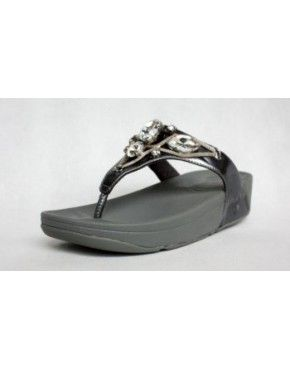 38f3bb50acb0bd Womens Fitflop Grey Gem Sandals 2014