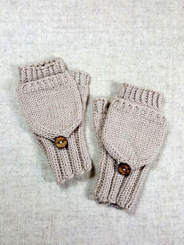 Funky Strickmuster Für Kinder Handschuhe Mit Den Fingern Photo ...