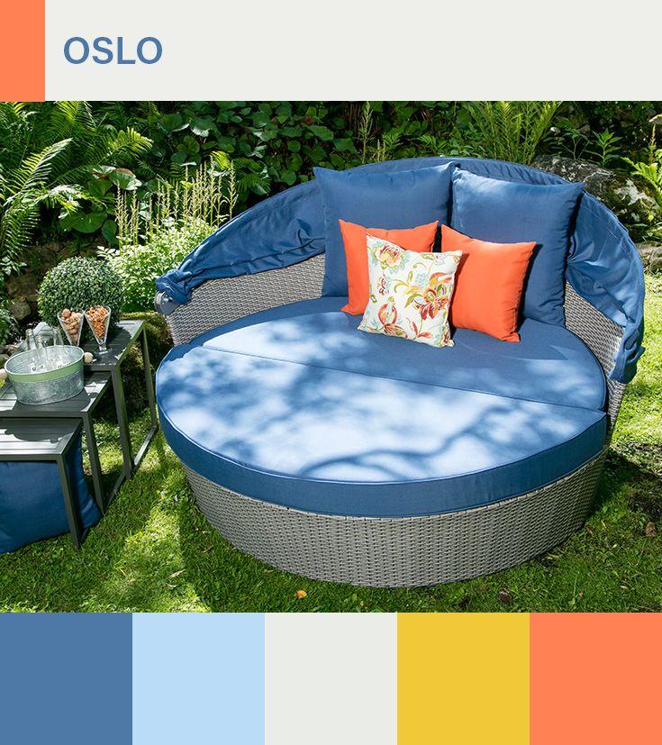 le sectionnel san paolo est compose de 3 morceaux il est fait d une structure d aluminium et de rotin syntheti meubles de jardin garden furniture