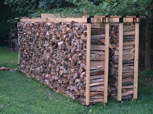 Fire Wood Storage Plans Diy Firewood Rack Quick