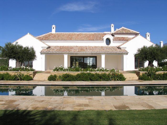 Cortijo styled villas in Finca Cortesin, Casares