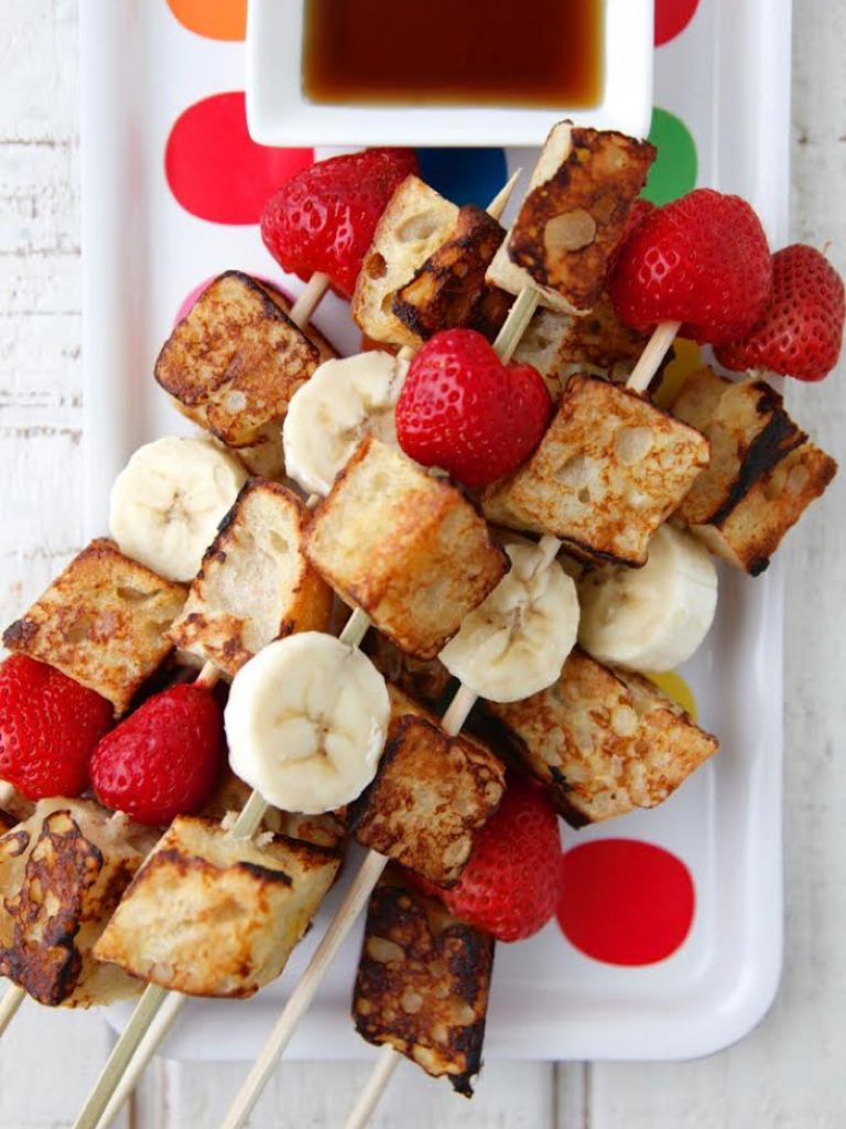 French Toast on a Stick Recipe (With images) Preschool