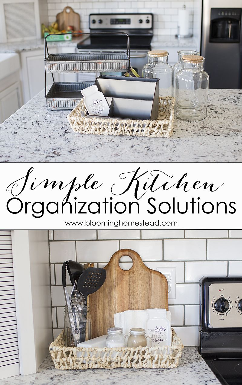 Kitchen Countertop Organization Ideas Countertop Organization