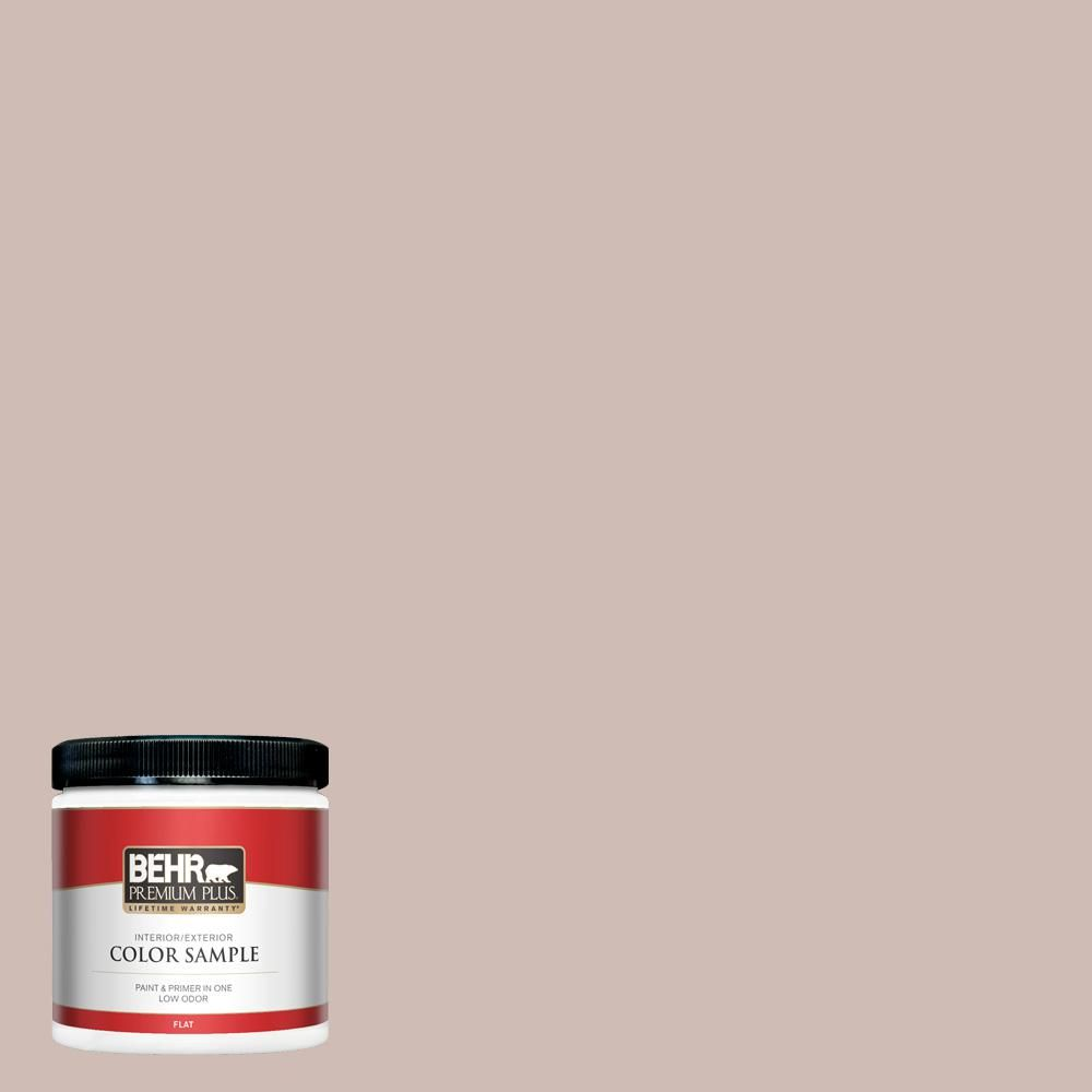 Behr Premium Plus 8 Oz N150 2 Smokey Pink Flat Interior Exterior Paint And Primer In One Sample In 2020 Exterior Wood Stain Interior Paint Interior Paint Colors