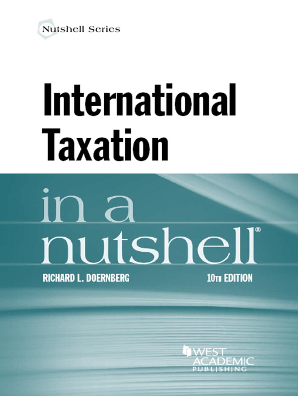 Doernberg's International Taxation in a Nutshell 10th