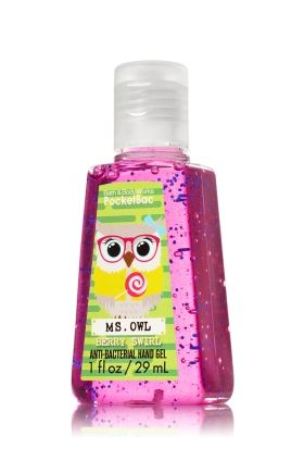Berry Swirl Pocketbac Sanitizing Hand Gel Soap Sanitizer Bath