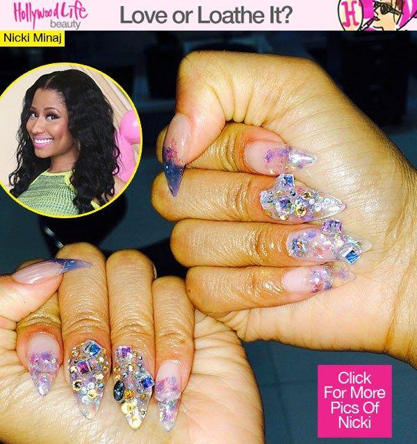 Nicki Minaj Stiletto Nails | www.pixshark.com - Images ...
