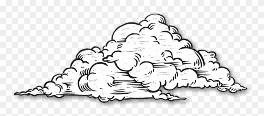 Download Hd Clouds Clipart Sketch Clouds Black And White Drawing Png Download And Use The Free Clipart F Cloud Drawing Sketch Cloud Black And White Drawing