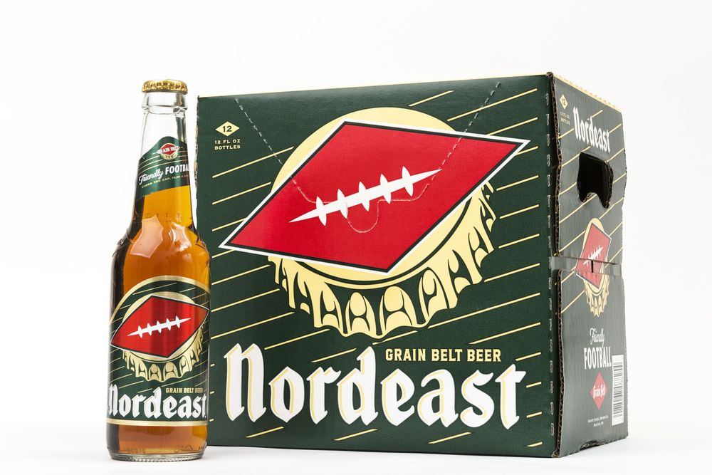New Grain Belt Beer for football season — The Dieline - Branding & Packaging