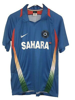 Nike Sahara Board Of Control For Cricket In India Jersey Mens L In 2020 Cricket In India Mens Xl Jersey