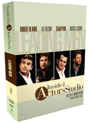 Inside The Actors Studio Leading Men Box Set Import Anglais Dvd Blu Ray Fr