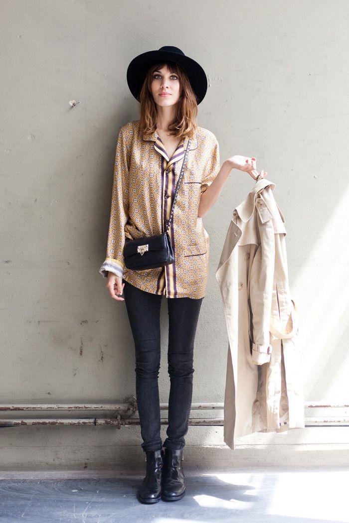 Alexa Chung - London Fashion Week  92494d389cf
