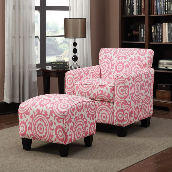 Dorable Living Room Chairs And Ottomans Collection - Living Room ...