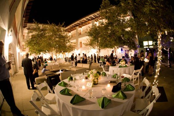 An Outdoor Reception In The Hotel Casa 425 Courtyard Claremont Ca Just For You