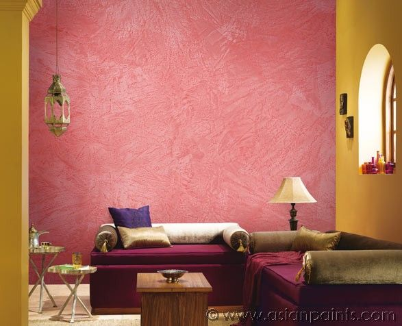 Baby pink asian paints mera wala wall pinterest for Asian paints interior designs