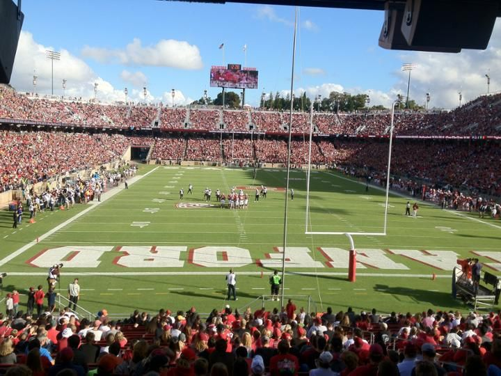 Photo Gallery Of Stanford Stadium Home Of The Stanford Cardinal Stanford Cardinal Stadium Stanford