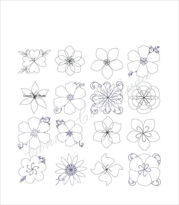 Printable Coloring Page These would look pretty decorating