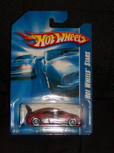 2007 Hot Wheels #100 Red Honda Civic Si w//OH5 Spoke Wheels