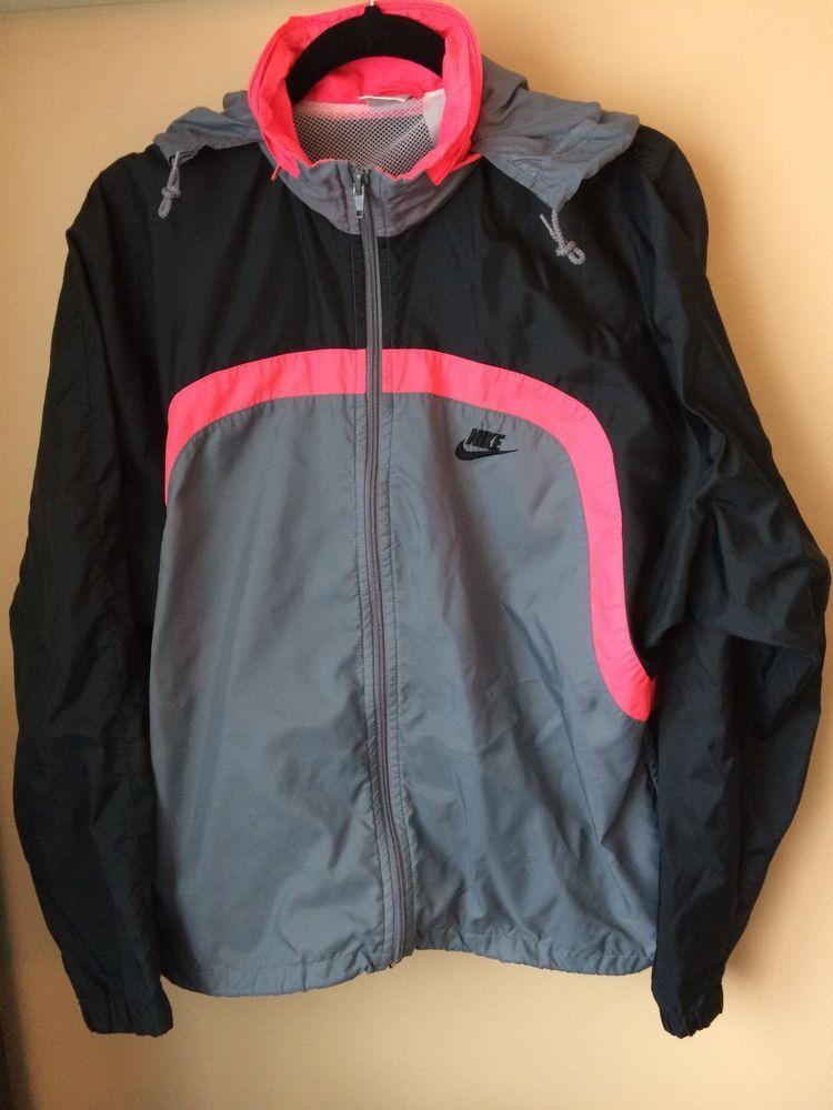 c52cf87cc9 Vintage Nike Windbreaker Hot Pink
