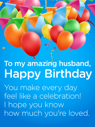 To My Amazing Husband Happy Birthday Wishes Card Te Querio Mucho Catalan Dios Te Bendi Husband Birthday Card Birthday Wish For Husband Happy Birthday Cards