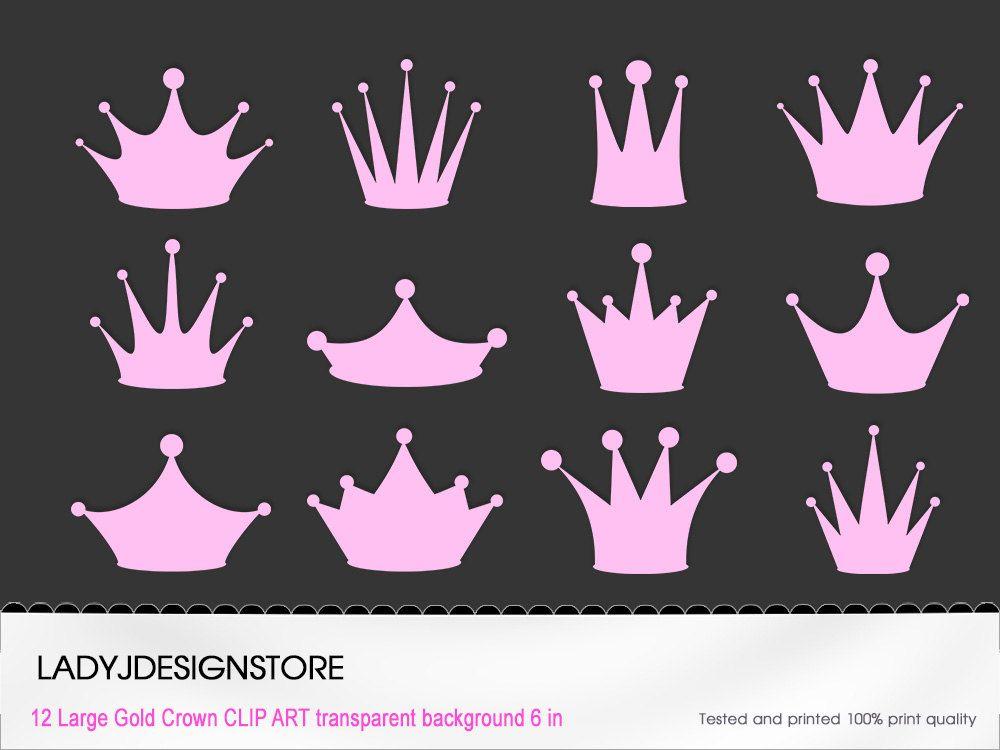 pink princess crown clip art 12 digital clipart pink crowns for