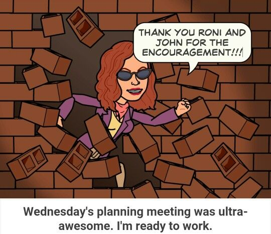 #planning #meeting #super #motivated #readytowork Thank you Roni and John for the #encouragement and #brainstorming #readyforthenextlevel
