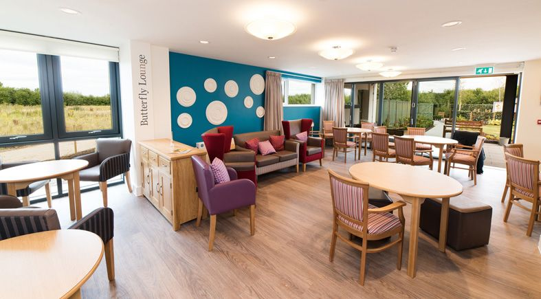 Crave ID. Fairwarys Dementia Care Home. Lounge And Dining