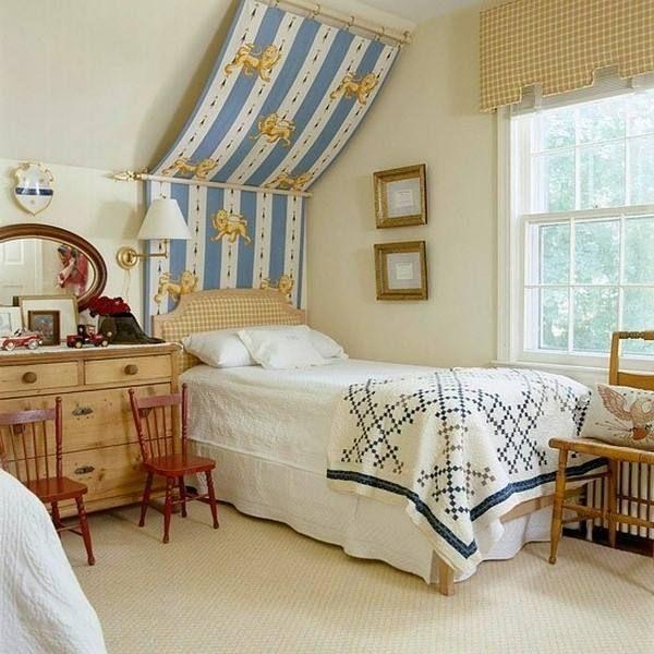 Ideen Für Kleine Räume Mit Schrägen   Schlafzimmer dachschräge, Einrichtungsideen schlafzimmer ...