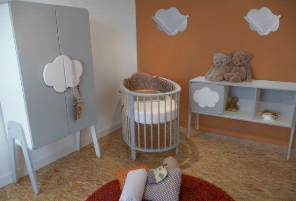 Chambre Bébé Songes et Rigolades Nuage | Idées petite chambre ...