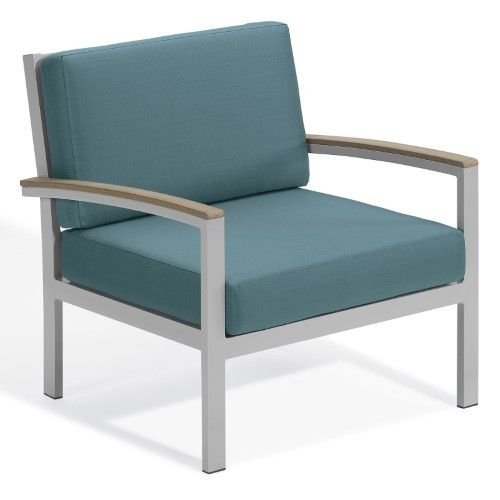 Oxford Garden Travira Tekwood and Aluminum Club Chair Products