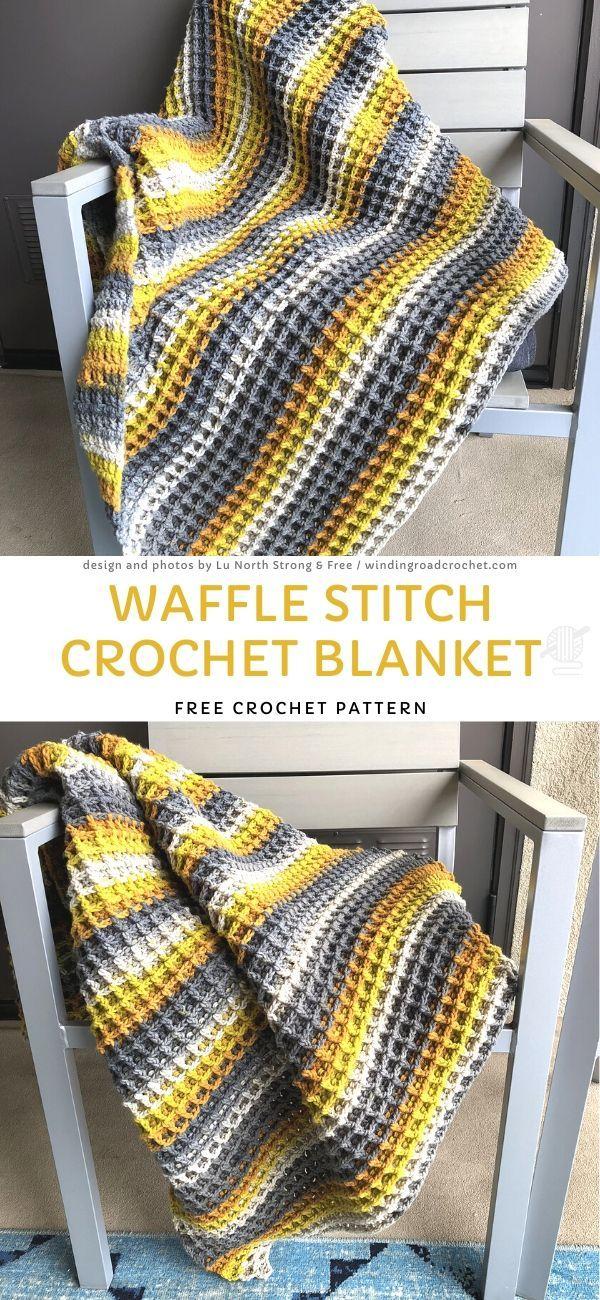 , Waffle Stitch Crochet BlanketFree Crochet Pattern, My Travels Blog 2020, My Travels Blog 2020