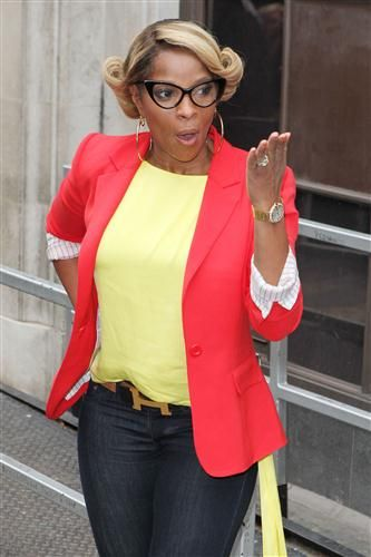 Mary J Blige Birthday Urban Reportlipstick Fashion Dirty