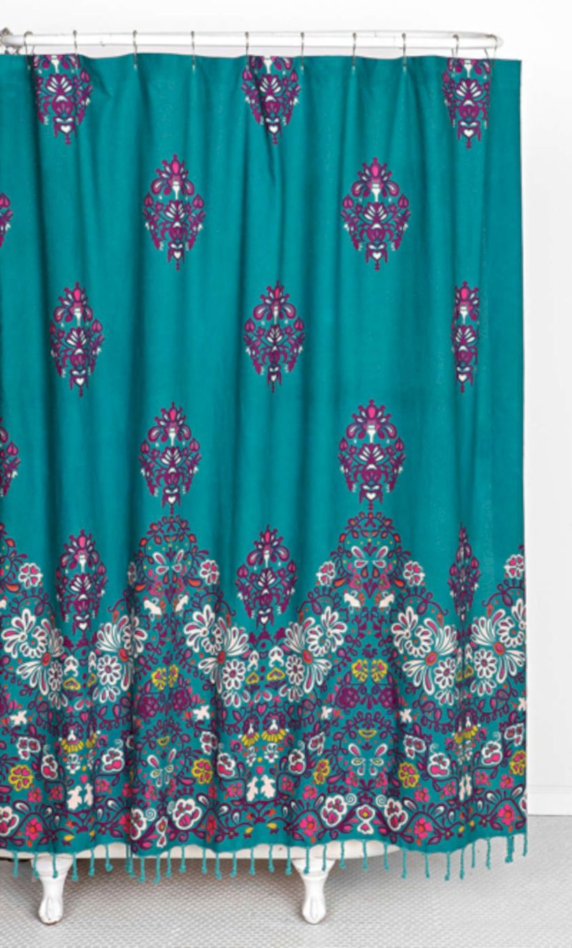 Awesome 66 Bright And Colorful Shower Curtain Designs Ideas About Ruth